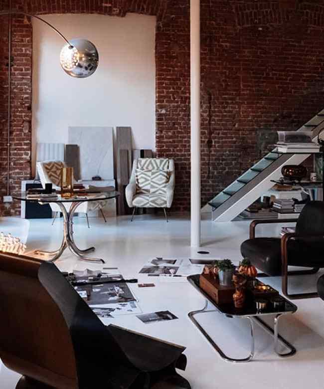 Studio Mamo, design, collezioni, complementi d'arredo e progettazione interni. Attività di ricerca tra casa e moda in un caratteristico loft sui Navigli